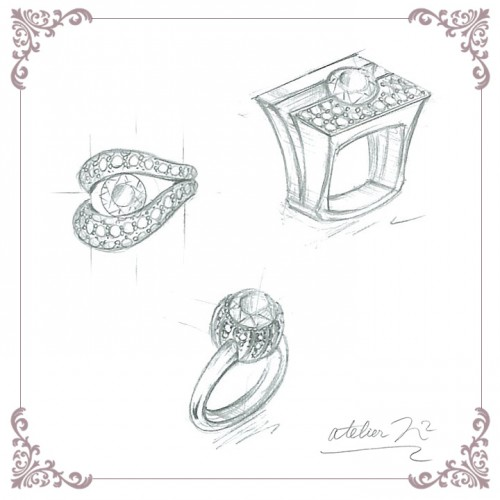 ダイヤモンドデザイン画